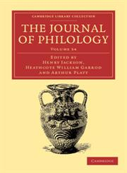 The Journal of Philology,1108056946,9781108056946