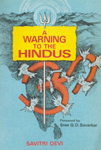 A Warning to the Hindus,8185002401,9788185002408