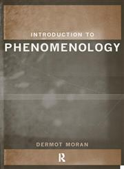 Introduction to Phenomenology,0415183731,9780415183734