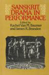 Sanskrit Drama in Performance 1st Indian Edition,8120807723,9788120807723