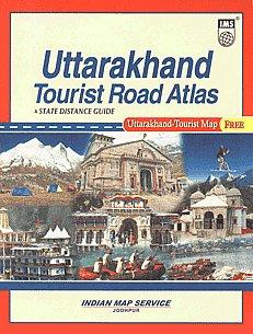 Uttarakhand Tourist Road Atlas & State Distance Guide [Uttarakhand-Tourist Map Free],8187460873,9788187460879