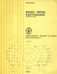 Bihar-Nepal Earthquake, August 20, 1988 = Bihara-Nepala bhukampa, Agasta 20, 1988
