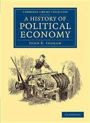 A History of Political Economy,1108053025,9781108053020