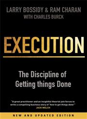 Execution   The Discipline of Getting Things Done,1847940684,9781847940681