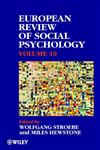 European Review of Social Psychology, zzEuropean Review of Social Psychology zz (European Review of Social Psychology),0471899682,9780471899686