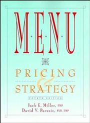 Menu Pricing & Strategy 4th Edition,0471287474,9780471287476