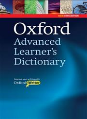 Oxford Advanced Learner's Dictionary 8th Revised Edition,0194799042,9780194799041