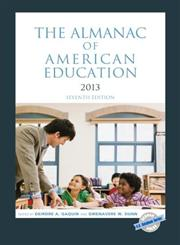 The Almanac of American Education, 2013 7th Edition,1598886010,9781598886016