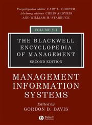 The Blackwell Encyclopedia of Management 2nd Edition,1405100656,9781405100656