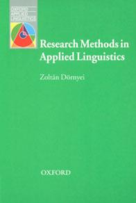 Research Methods in Applied Linguistics  Quantitative, Qualitative, and Mixed Methodologies,0194422585,9780194422581