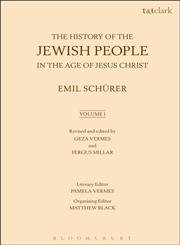 History of the Jewish People in the Age of Jesus Christ Volume 1,0567022420,9780567022424