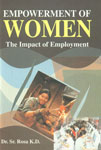 Empowerment of Women The Impact of Employment,9380031610,9789380031613