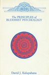 The Principles of Buddhist Psychology 1st Indian Edition,8170303222,9788170303220
