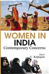Women in India Contemporary Concerns,8121211409,9788121211406
