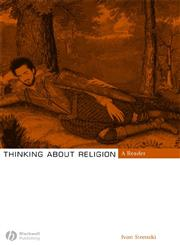 Thinking about Religion A Reader,140512167X,9781405121675