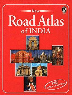 India Road Atlas [Free India Tourist Map],8187172452,9788187172451