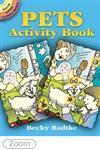 Pets Activity Book (Dover Little Activity Books),0486444910,9780486444918