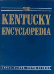 The Kentucky Encyclopedia,0813117720,9780813117720
