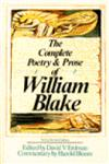 The Complete Poetry & Prose of William Blake,0385152132,9780385152136