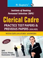 IBPS Clerical Cadre Practice Test Papers & Previous Papers (Solved),8178125781,9788178125787