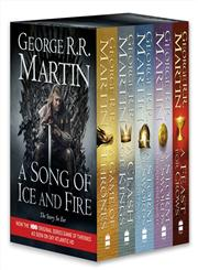 A Game of Thrones [Box Set],0007450664,9780007450664