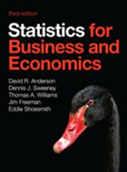 Statistics for Business and Economics 3rd Edition,1408088398,9781408088395