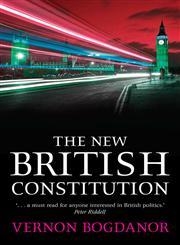 The New British Constitution,1841136719,9781841136714