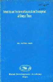Potentials and Problems of Aquaculture Development at Sherpur Thana,9845561743,9789845561743
