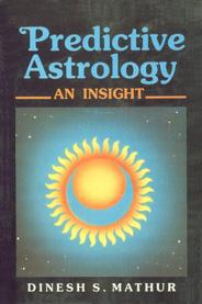 Predictive Astrology An Insight 3rd Reprint,812081388X,9788120813885