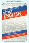 How to Speak and Write Better English 10th Printing,812220001X,9788122200010