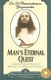 Man's Eternal Quest Collected Talks and Essays on Realizing God in Daily Life - Vol. I 3rd Impression,818953503X,9788189535032