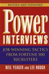 Power Interviews: Job-Winning Tactics from Fortune 500 Recruiters, Revised and Expanded Edition,0471177881,9780471177883