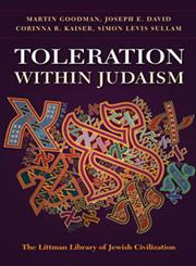 Toleration within Judaism,1906764174,9781906764173