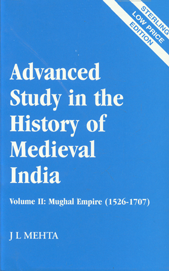 Mughal Empire, 1526-1707 Vol. 2 Sterling Low Price Edition, Reprint,8120710150,9788120710153