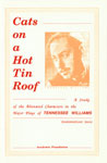 Cats on a Hot Tin Roof A Study of the Alienated Characters in the Major Plays of Tennessee Williams 1st Edition,8171880037,9788171880034