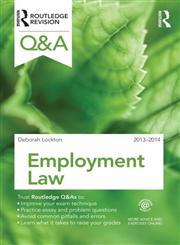 Q&A Employment Law 2013-2014 8th Edition,0415695074,9780415695077