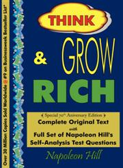 Think and Grow Rich - Complete Original Text Special 70th Anniversary Edition,0979415470,9780979415470
