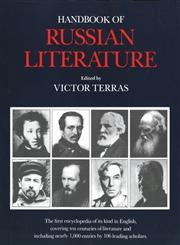 Handbook of Russian Literature,0300048688,9780300048681