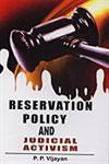 Reservation Policy and Judicial Activism,8178354195,9788178354194