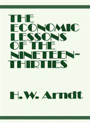 Economic Lessons of the 1930s,0714612049,9780714612041