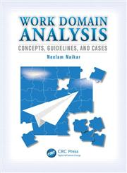 Work Domain Analysis Concepts, Guidelines and Cases,0805861297,9780805861297