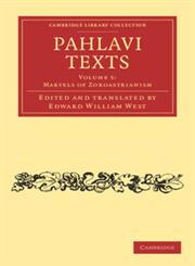 Pahlavi Texts,1108054331,9781108054331