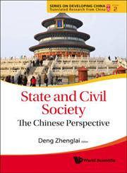 State and Civil Society The Chinese Perspective,9814313572,9789814313575
