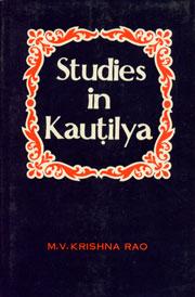 Studies in Kautilya 3rd Revised Edition,812150242X,9788121502429