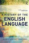 A History of the English Language 6th Edition,041565596X,9780415655965