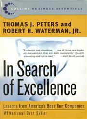 In Search of Excellence Lessons from America's Best-Run Companies 1st Edition,0060548789,9780060548780