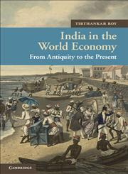 India in the World Economy From Antiquity to the Present 1st Edition,1107009103,9781107009103