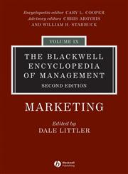 The Blackwell Encyclopedia of Management Marketing 2nd Edition,1405102543,9781405102544