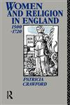 Women and Religion in England 1500-1720,0415016975,9780415016971