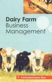 Dairy Farm Business Management,8176221953,9788176221955